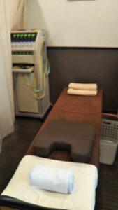 阿波座院治療ベッド